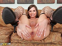 Watch the sexy Michelle Firestone get some Super Ramon cock!