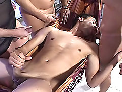 Man Getting Fucked By Trannys